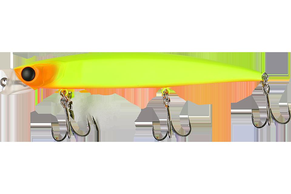 chartreuse & orange head